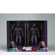 NECA Planet of the Apes Classic Gorilla Soldier 2 Pack 7 Inch Action Figures