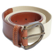 Oliver Sweeney Tobia Leather Belt - Tan/Stone