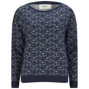 Vero Moda Women's Megan Boatneck Jumper - Navy