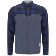 Supremebeing Men's Spitfire Shirt - Blue Check