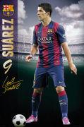 Barcelona Suarez 14/15 - Maxi Poster - 61 x 91.5cm