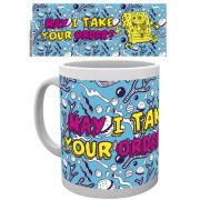 Spongebob Square Pants Doodle Mug