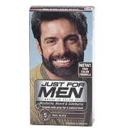 Just for Men Beard and Moustache Colour Gel Real Black