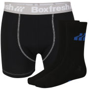 Boxfresh Men's Sock & Boxer Gift Set - Black