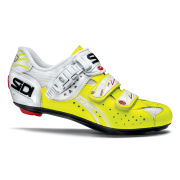 Sidi Genius 5 Fit Carbon Cycling Shoes - Fluo Yellow