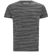 Jack & Jones Men's Repeat Camo Print T-Shirt - Grey Melange Camo