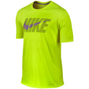Nike Men's Legend SS Swoosh T-Shirt - Volt