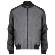 Brave Soul Men's Detroit Jacket - Grey