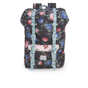 Herschel Little America Mid-Volume Backpack - Black Floral