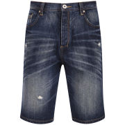 Tokyo Laundry Men's Guinea Denim Shorts - Midnight Blue