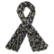 French Connection Kendall Printed Scarf - Black Multi