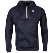 K - Way Men's Leon Half Zip Jacket - Navy