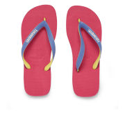 Havaianas Women's Top Mix Flip Flops - Neon Pink