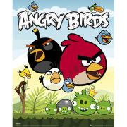 Angry Birds Group - Mini Poster - 40 x 50cm