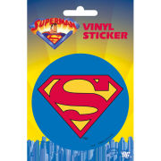 Superman Classic Logo - Vinyl Sticker - 10 x 15cm