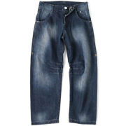 GASP Baggy Denim Jeans - Black