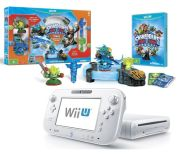 Nintendo Wii U Basic Console - Includes Skylanders Trap Team: Starter Pack