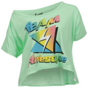 Local Celebrity Women's Team Awesome T-Shirt - Mint
