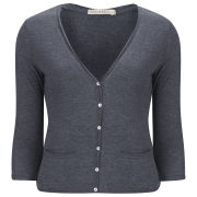 Brave Soul Women's Cardigan - Blue