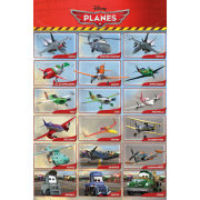 Planes Grid - Maxi Poster - 61 x 91.5cm