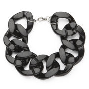 Impulse Women's Chunky Chain Bracelet - Black