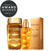 Kerastase Elixir Ultime Huile Lavante Bain 250ml & Oil 125ml Duo (Bundle)