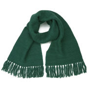 Collective Purl Stitch Scarf - Seasonal Green