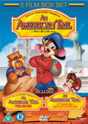 An American Tail 1, 2 and 3