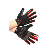 LOOK Men's Road Race Gloves - Black/Red