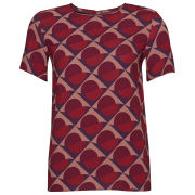 Marc by Marc Jacobs Women's Etta Print Top - Cabernet Red