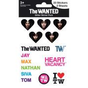The Wanted I Love (Glitter) - Glitter Sticker Pack