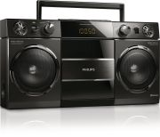 Philips OST690/10 Bluetooth USB FM Radio Boombox - Black
