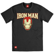 Creative Distribution Iron Man Mens T-Shirt - Mask College - L L product image