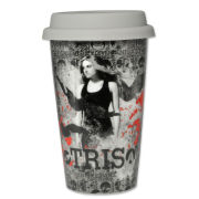 Divergent Tris Distress Travel Mug