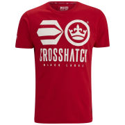 Crosshatch Men's Classico T-Shirt - Tango Red