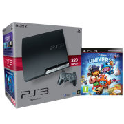 Playstation 3 PS3 Slim 320GB Console: Bundle (Includes Disney Universe)