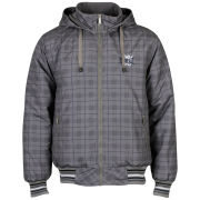 Everlast Men's Hood All Over Print Jacket - Charcoal/Black