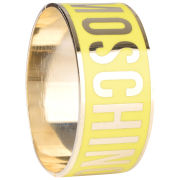 Love Moschino Women's Logo Bracelet - Yellow