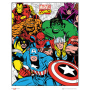 Marvel Group - Mini Poster - 40 x 50cm