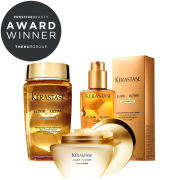 Kerastase Elixir Ultime Huile Lavante Bain, Beautifying Masque & Oil Trio (Bundle)