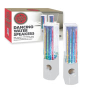 Dancing Water Speakers - White
