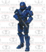 Halo 4 Series 3 Spartan Thorne With Assault Rifle Action Figure
