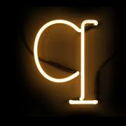 Seletti Neon Letter Q