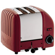 Dualit Classic Vario 2 Slot Toaster Red