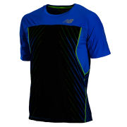 New Balance Men's NBX Excel Race Day T-Shirt - Laser Blue/Black