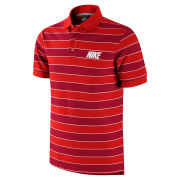 Nike Men's Match-Up Striped Polo Shirt - Red