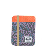 Herschel Cypress iPad Sleeve - Purple Leopard/Orange Polka Dot/Khaki