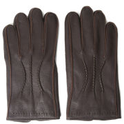 Oliver Sweeney McKay Deerskin Gloves - Brown