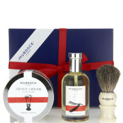 Murdock London Luxury Gift Box: Pre Shave Oil, Shave Cream & Badger Brush