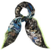Jane Carr The Costume Square  Scarf - Ink
